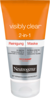 NEUTROGENA Visibly Clear Reinigungsmaske 2in1 - 150ml - Pflegemasken