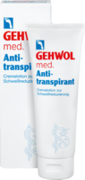 GEHWOL MED Antitranspirant Lotion - 125ml - Fußsprays & -puder