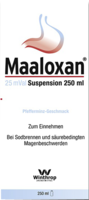 MAALOXAN 25 mVal Suspension - 250ml - Saurer Magen