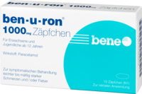 BEN-U-RON 1.000 mg Suppositorien - 10St - Grippe & Fieber