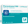 PARACETAMOL 500 1A Pharma Tabletten