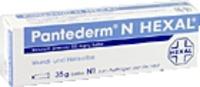 PANTEDERM N HEXAL Salbe 100 g