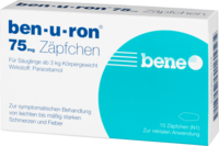 BEN-U-RON 75 mg Suppositorien - 10St - Grippe & Fieber