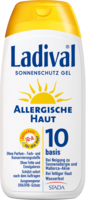 LADIVAL allergische Haut Gel LSF 10 - 200ml - Sonnengel & Spray