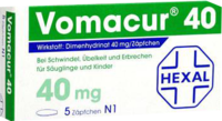 VOMACUR 40 Suppositorien - 10St - �belkeit & Schwindel