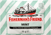 FISHERMANS FRIEND mint ohne Zucker Pastillen - 25g - Fishermans Friend