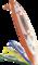 GERATHERM Ohr Stirn Thermometer Duotemp orange 1 St