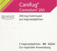CANIFUG Cremolum 200 Vaginalsuppositorien - 3St - Vaginalpilz-Therapeutika