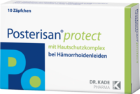 POSTERISAN protect Suppositorien - 10St - H�morrhoiden