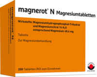 MAGNEROT N Magnesiumtabletten - 200St - Magnesium