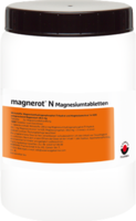 MAGNEROT N Magnesiumtabletten - 1000St - Magnesium