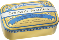 GRETHERS Blackcurrant Gold zh.Past.Dose - 110g - Bonbons zuckerhaltig