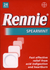 RENNIE Spearmint Kautabletten