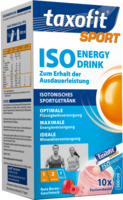 TAXOFIT Sport Iso Energy Drink rote Beeren Port.B. - 10St - Magnesium