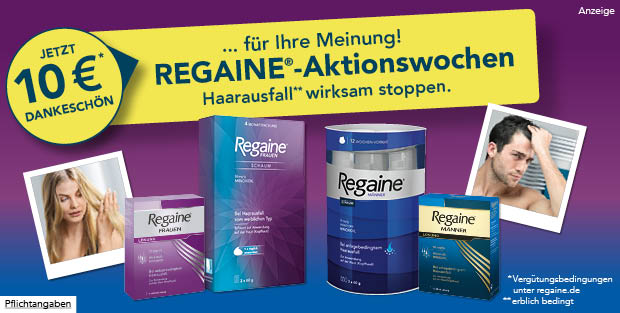 Regaine Aktionswochen