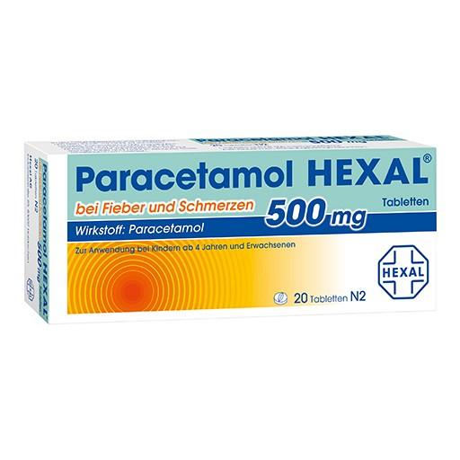 Paracetamol 500 mg HEXAL