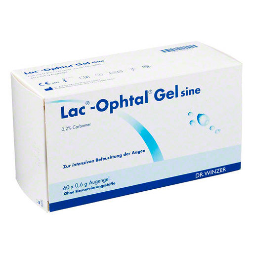 LAC OPHTAL Gel sine 60X0.6 ml
