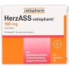 HERZASS-ratiopharm 100 mg Tabletten