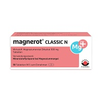 MAGNEROT CLASSIC N Tabletten - 50St - St�rkung f�r das Herz