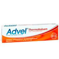 ADVEL Thermobalsam 0,6627-1,8292g/100g Creme - 50g
