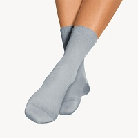 BORT SoftSocks ergo normal Gr.38-40 silbergrau - 2St - Diabetikersocken