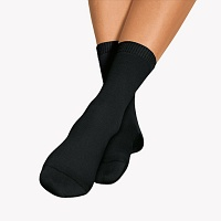 BORT SoftSocks ergo normal Gr.41-43 schwarz - 2St - Diabetikersocken