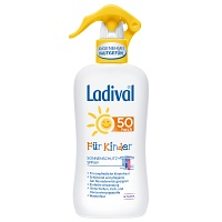 LADIVAL Kinder Spray LSF 50 - 200ml - Sonnengel & Spray
