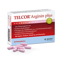 telcor arginin plus filmtabletten 60 st. Black Bedroom Furniture Sets. Home Design Ideas