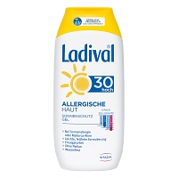LADIVAL allergische Haut Gel LSF 30 - Sonnengel & Spray