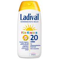 LADIVAL Kinder Sonnenmilch LSF 20 - 200ml