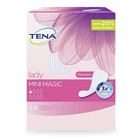 TENA LADY mini magic Einlagen - 6X34St - Einlagen & Netzhosen