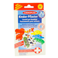 KINDERPFLASTER Mix - 30St - Pflaster