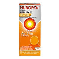 NUROFEN Junior Fiebersaft Orange 2% - 100ml - Grippe & Fieber