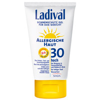 LADIVAL allergische Haut Gel Gesicht LSF 30 - 75ml - Sonnengel & Spray