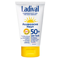 LADIVAL allergische Haut Gel Gesicht LSF 50+ - 75ml - Sonnengel & Spray