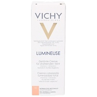 VICHY LUMINEUSE Mate peche normale/Mischhaut Creme - 30ml - Getönte Tagescreme