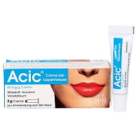 ACIC Creme bei Lippenherpes - 2g - Lippenherpes