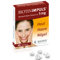 BIOTIN IMPULS 5 mg Tabletten - 40St - Biotin