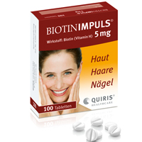 BIOTIN IMPULS 5 mg Tabletten - 100St - Biotin