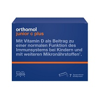 ORTHOMOL Junior C plus Granulat - 7St - Für Kinder