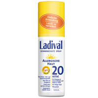 LADIVAL allergische Haut Spray LSF 20 - 150ml - Sonnengel & Spray