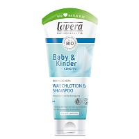LAVERA Baby & Kinder sensitiv Waschlotion&Shampoo - 200ml - Baby & Kinder