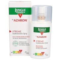 JUNGLE Formula by AZARON XTREME Spray - 75ml - Zecken-& Mückenschutz