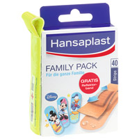 HANSAPLAST Family Pack Strips - 40St