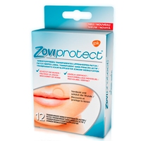 ZOVIPROTECT Lippenherpes-Patch transparent - 12St - Lippenherpes